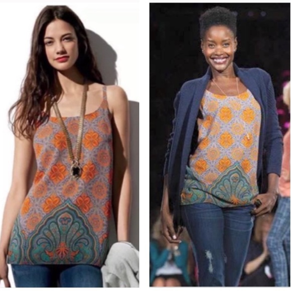 CAbi Tops - NWT cAbi Arabesque Lined Camisole #3082 Small